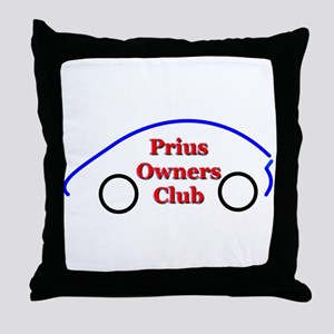 Prius Club Throw Pillow