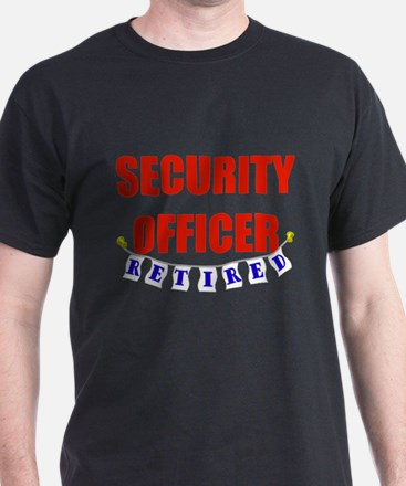 Retired Security Officer T-Shirt