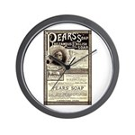 Pear's Soap Wall Clock