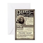 Pear's Soap Greeting Cards (Pk of 10)
