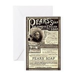 Pear's Soap Greeting Card