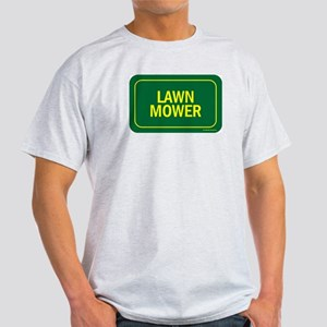 Lawn Mower Ash Grey T-Shirt