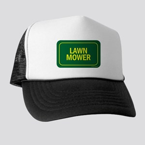 Lawn Mower Trucker Hat