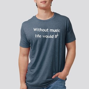 Without music life would be flat shirt T-Shirt