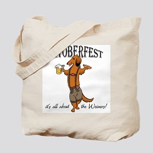 LH Oktoberfest Dachshund Tote Bag