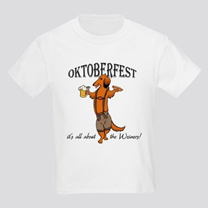 LH Oktoberfest Dachshund Kids Light T-Shirt