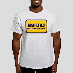 Mathletes Ash Grey T-Shirt