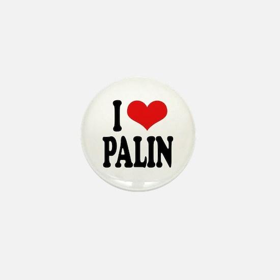 I Love Palin Mini Button