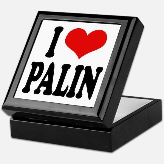I Love Palin Keepsake Box