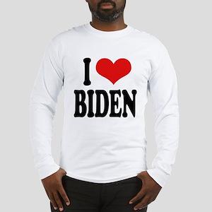 I Love Biden Long Sleeve T-Shirt