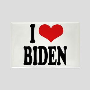 I Love Biden Rectangle Magnet