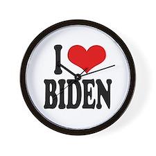I Love Biden Wall Clock