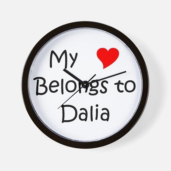 Unique Dalia Wall Clock