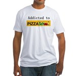 Pizza School Fitted T-Shirt