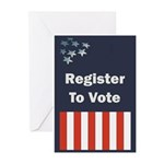 Register to Vote Greeting Cards (Pk of 10)