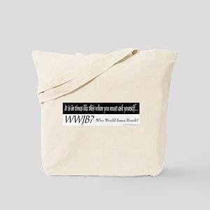 WWJB? - Tote Bag