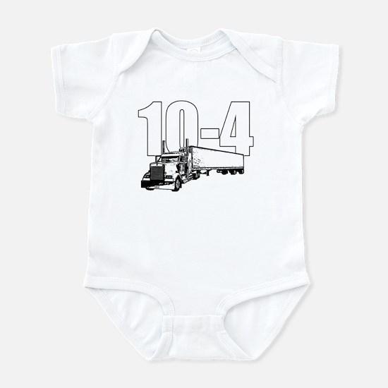 10-4 Trucker Infant Bodysuit