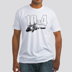 10-4 Trucker Fitted T-Shirt