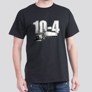 10-4 Trucker Dark T-Shirt