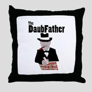 The DaubFather Throw Pillow