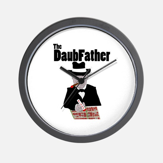 The DaubFather Wall Clock