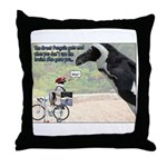 The Great Penguin Gets Mad... Throw Pillow