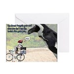 The Great Penguin Gets Mad... Greeting Cards (Pk o