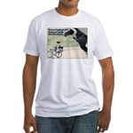 The Great Penguin Gets Mad... Fitted T-Shirt