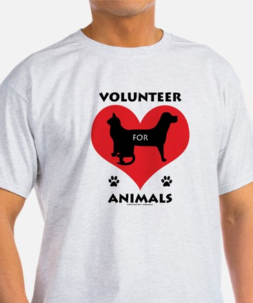 Volunteer for Animals T-Shirt