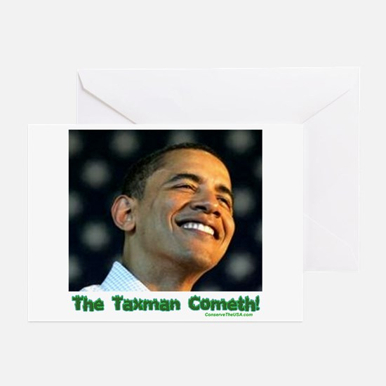 """""""The Taxman"""" Greeting Cards (Pk of 10)"""