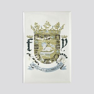 Puerto Rican Coat of Arms Rectangle Magnet