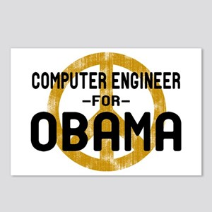 Computer Engineer for Obama Postcards (Package of