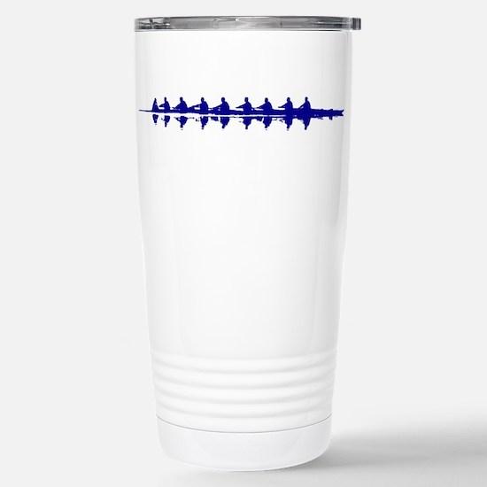 BLUE CREW Stainless Steel Travel Mug