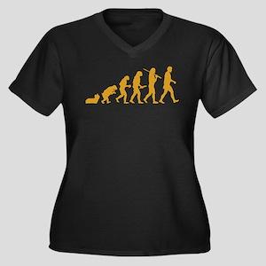 Skye Terrier Women's Plus Size V-Neck Dark T-Shirt