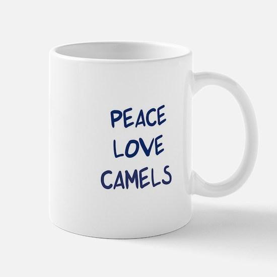 Peace, Love, Camels Mug