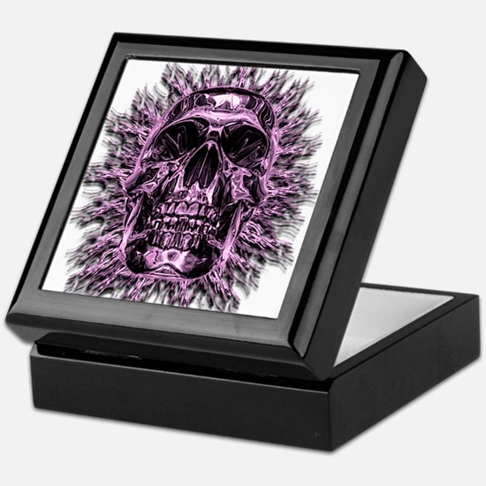 Unique Skull and crossbones Keepsake Box