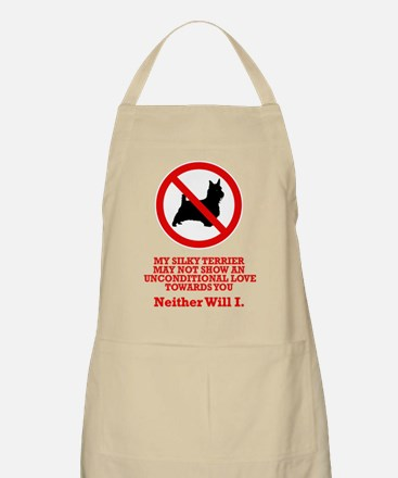 Silky Terrier BBQ Apron