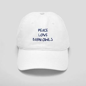 Peace, Love, Barn Owls Cap