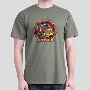 Cement Truck Driver Dark T-Shirt