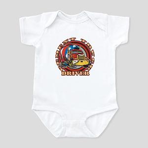Cement Truck Driver Infant Bodysuit