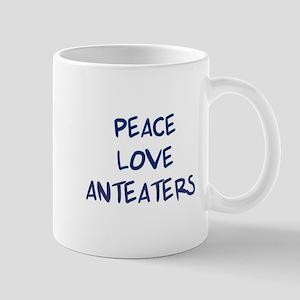 Peace, Love, Anteaters Mug
