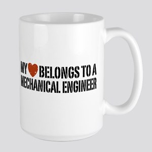 My Heart Belongs to a Mechanical Engineer Large Mu