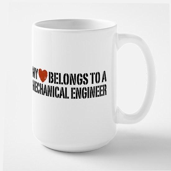 My Heart Belongs to a Mechanical Engineer Large Mu