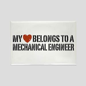 My Heart Belongs to a Mechanical Engineer Rectangl