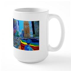 Rainbow River Large Mug