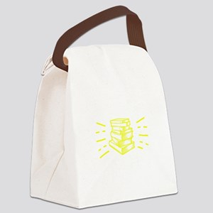 Reading Book Reading Is Lit Birth Canvas Lunch Bag
