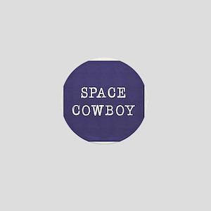 Space Cowboy Mini Button