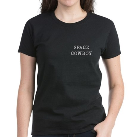 Space Cowboy Women's Dark T-Shirt