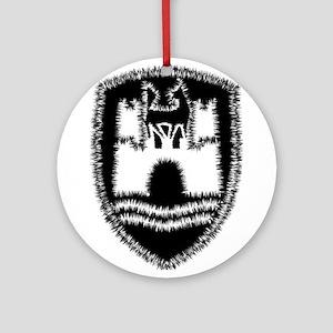 Wolfsburg Crest Ornament (Round)