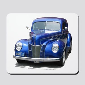 Helaine's Blue Ford Mousepad